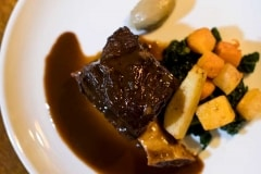 Braised Bowland beef